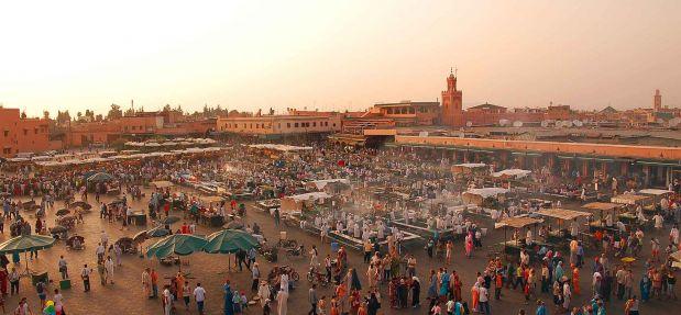 Marrakech - ciudad de colores