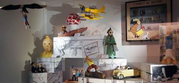 Le musée de la Bande dessinée et des Figurines, le MOOF