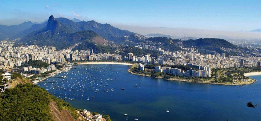 Le mont du Pain de Sucre à Rio de Janeiro au Brésil