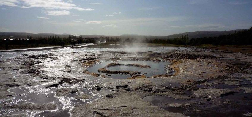 Islande - geyser