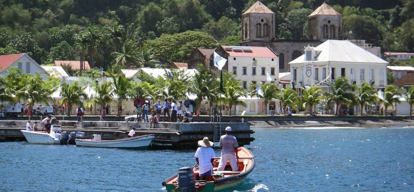 Saint-Pierre en Martinique