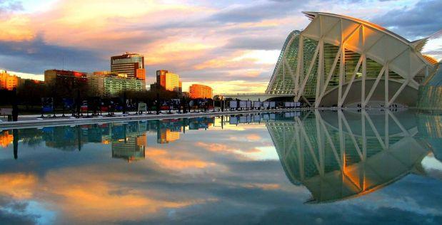 Valencia, una mezcla hermosa de ciudad urbana e histórica