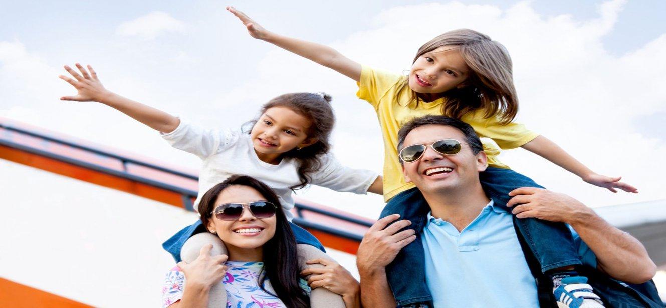 El placer de viajar con niños