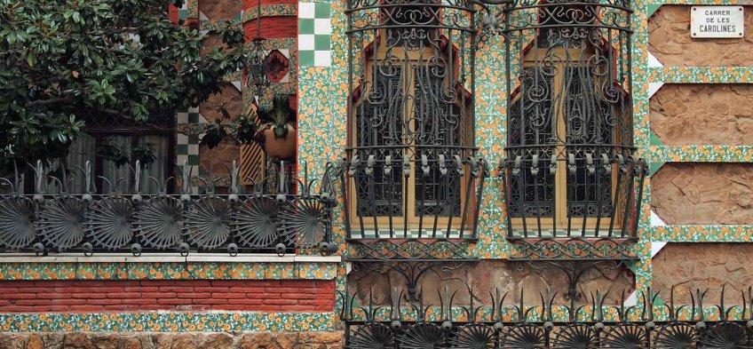 La Casa Vicens à Barcelone