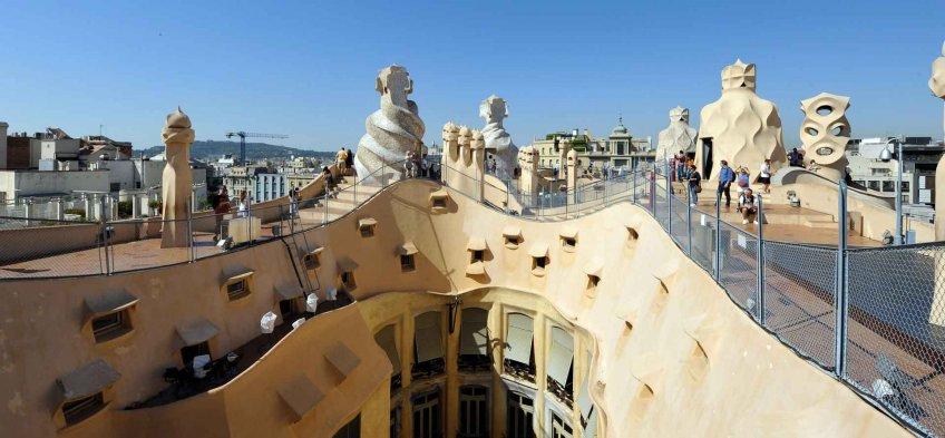 La Casa Milà à Barcelone - La Pedrera