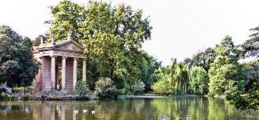 La Villa et la galerie Borghèse